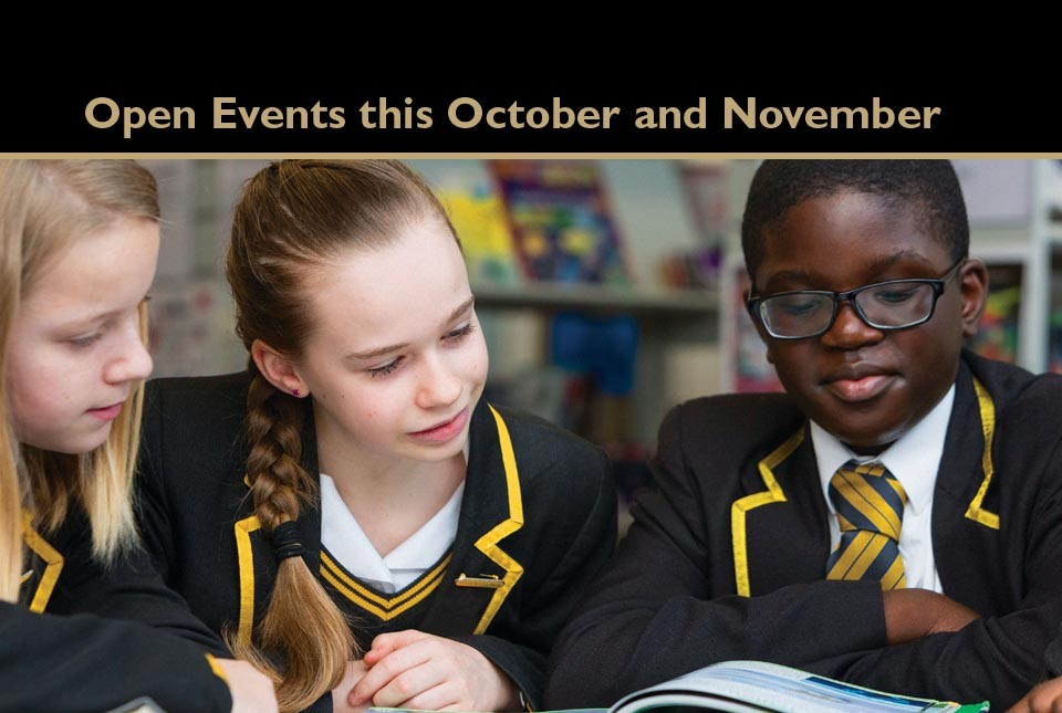 Open Days in October and November